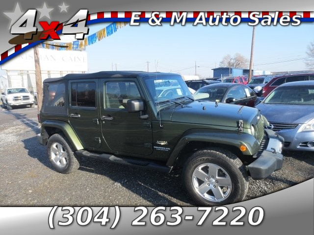 2009 Jeep Wrangler Unlimited Sahara 4WD 4-Speed Automatic