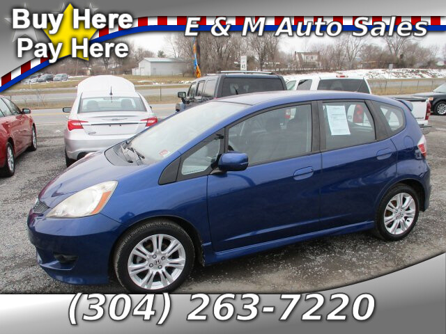2010 Honda Fit Sport 5-Speed
